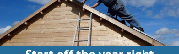 Start the Year Off Right With A Roof Inspection